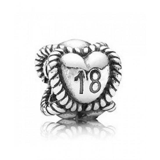 Pandora Charm-Sterling Silver 18 Jewelry
