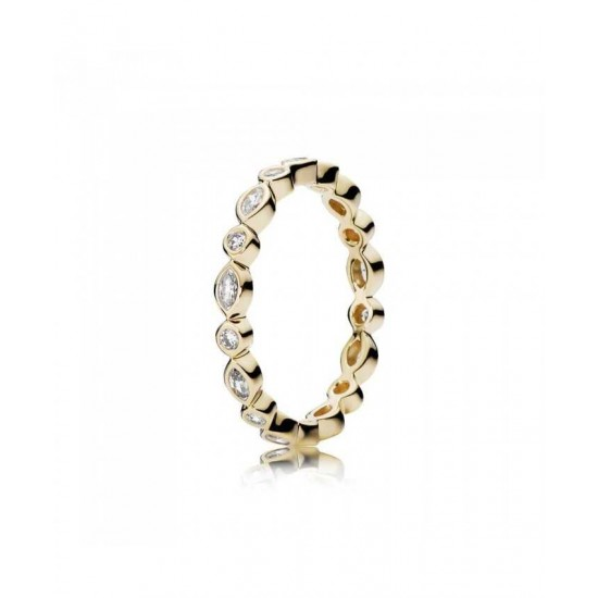 Pandora Ring-14ct Cubic Zirconia Marquise Cut Jewelry