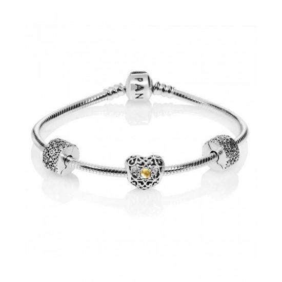 Pandora Bracelet-November Birthstone Complete Jewelry
