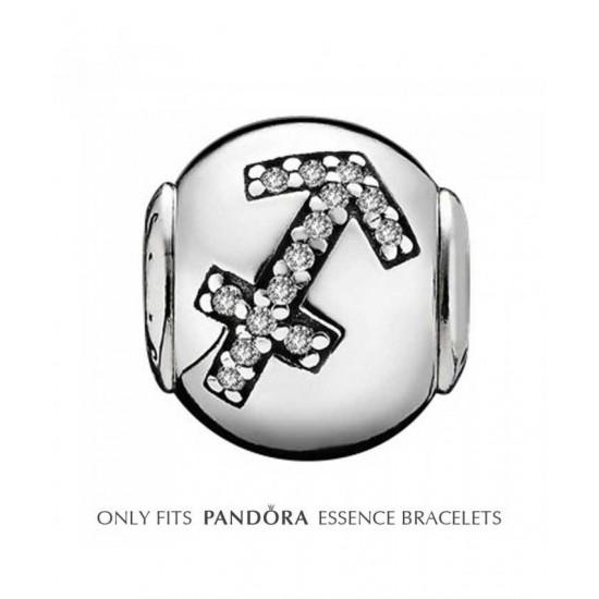 Pandora Charm-Essence Silver Sagittarius Jewelry Sale Online