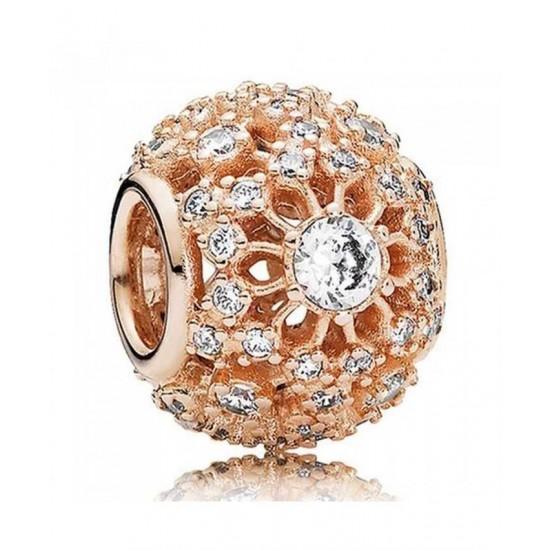 Pandora Charm-Rose Inner Radiance Jewelry
