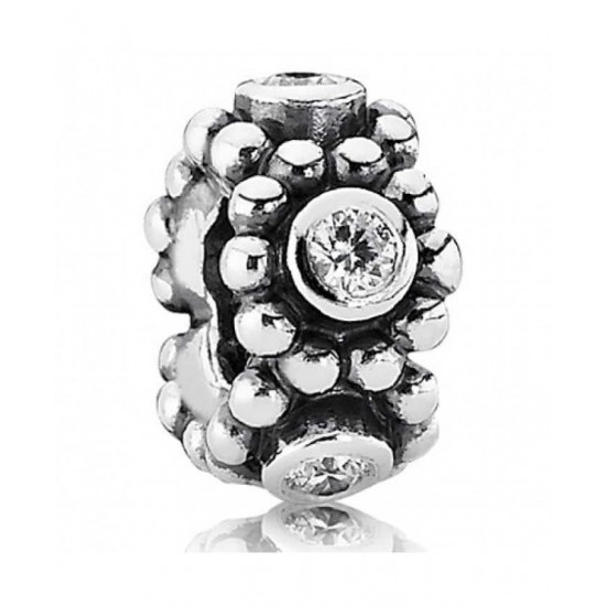Pandora Spacer-Silver Romance Cz Jewelry