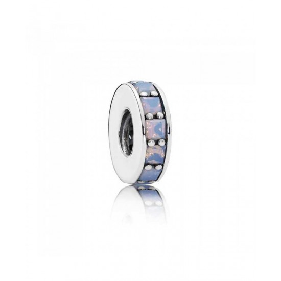 Pandora Spacer-Silver Opalescent Eternity Jewelry