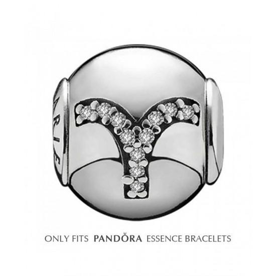 Pandora Charm-Essence Silver Aries Jewelry