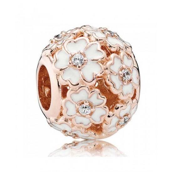 Pandora Charm-Rose White Primrose Meadow Jewelry