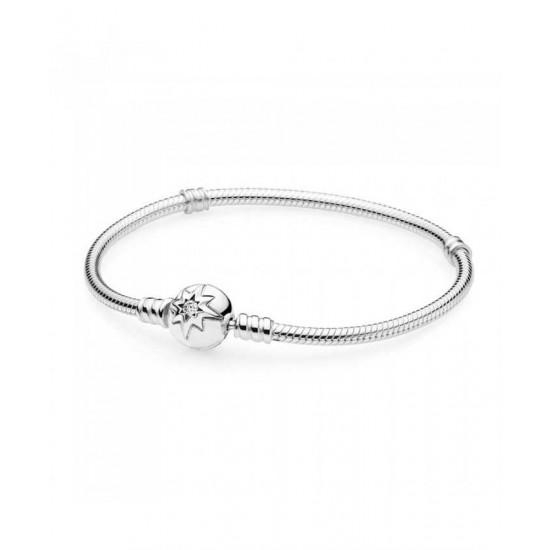 Pandora Bracelet-Silver Cubic Zirconia Starry Sky Jewelry