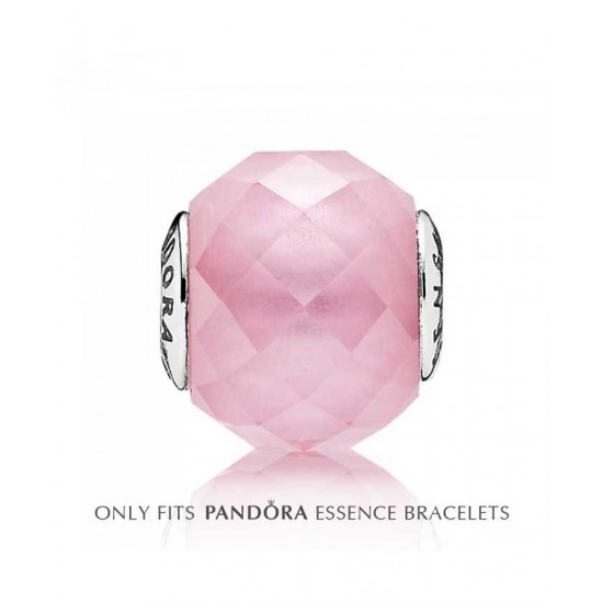 Pandora Charm-Essence Silver Pink Cubic Zirconia Sensitivity Jewelry