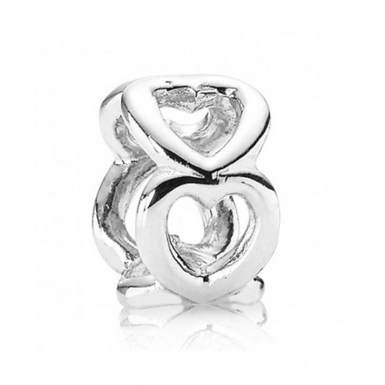 Pandora Spacer-Silver Open Work Hearts Jewelry