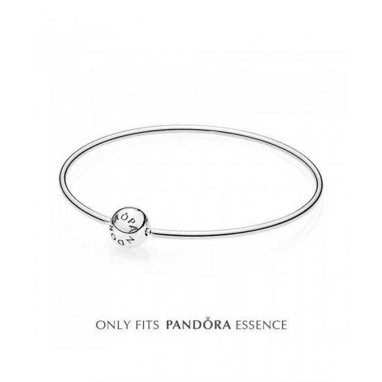 Pandora Bangle-Essence Silver Bangle Jewelry