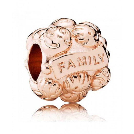 Pandora Charm-Rose Family Jewelry