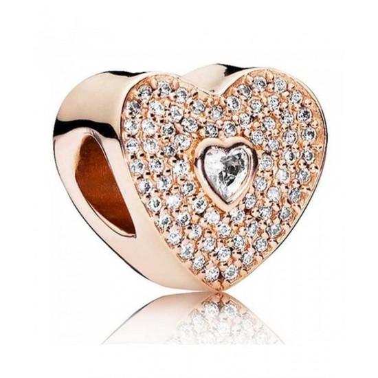 Pandora Charm-Rose Sweetheart Jewelry