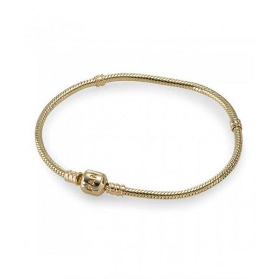 Pandora Bracelet-14ct Carat Gold Jewelry