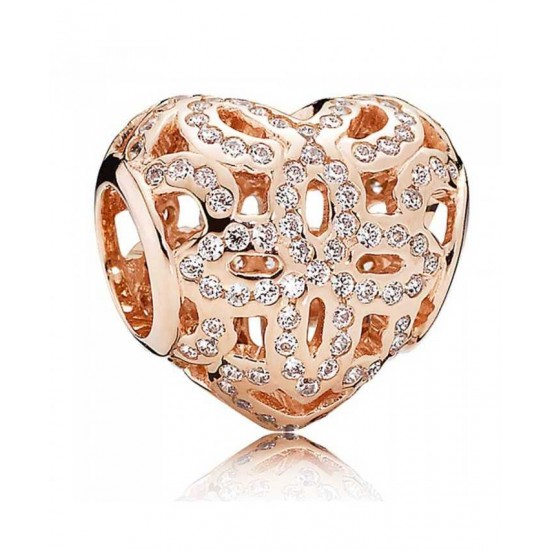 Pandora Charm-Rose Love And Appreciation Jewelry