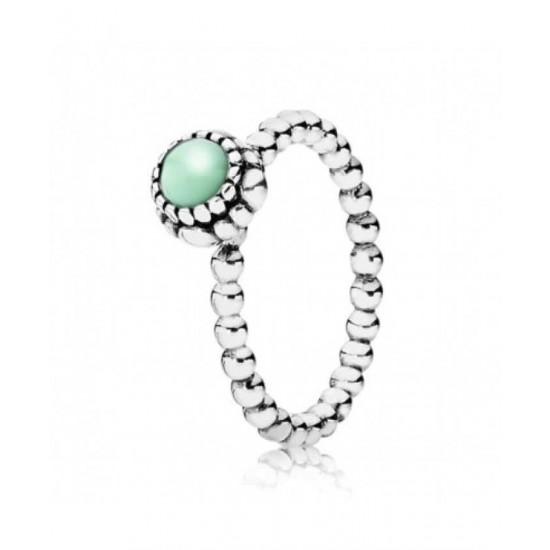 Enjoy Pandora Ring-Silver Bead Jewelry