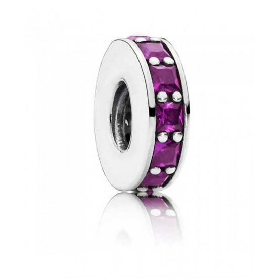 Pandora Spacer-Silver Royal Purple Eternity Jewelry
