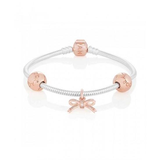 Pandora Bracelet-Rose Bow Jewelry