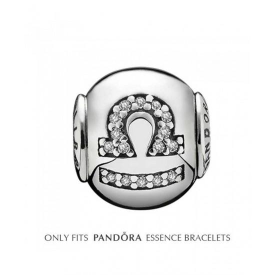 Pandora Charm-Essence Silver Libra Jewelry