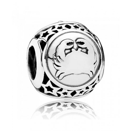 Pandora Charm-Silver Cancer Star Sign Jewelry Outlet Online
