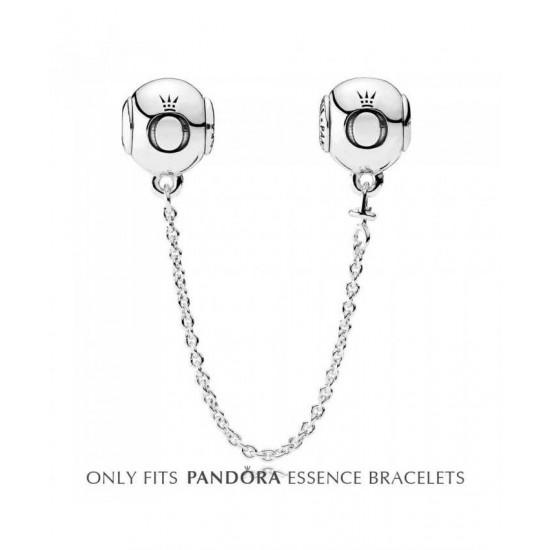 Pandora Safety Chain-Essence Silver 5cm Jewelry
