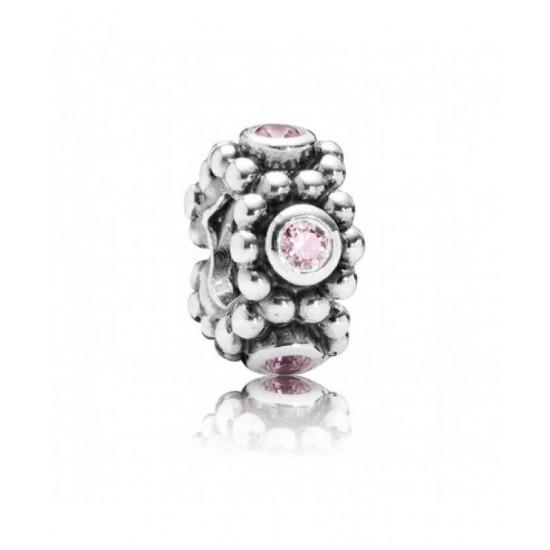 Pandora Spacer-Circle Pink Game Jewelry