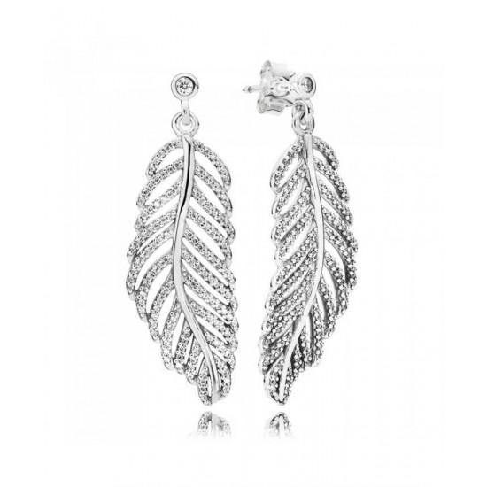 Pandora Earring-Silver ShimmeRing Jewelry