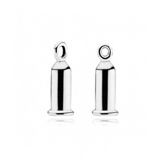 Pandora Earring-Silver Barrel Jewelry