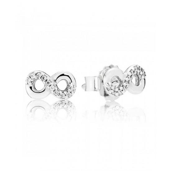 Pandora Earring-Silver Infinity Love Jewelry