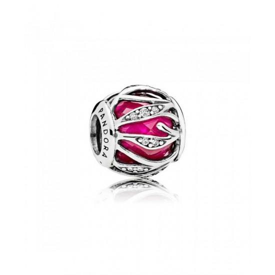 Pandora Charm-Royal Red Nature S Radiance Jewelry