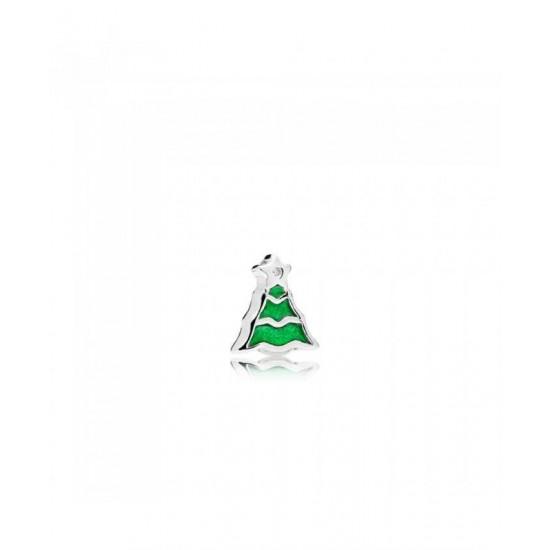 Pandora Charm-Christmas Tree Petite Locket Jewelry