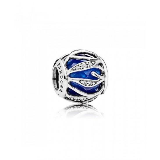 Pandora Charm-Royal Blue Nature S Radiance Jewelry