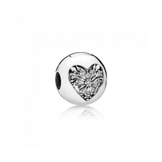 Pandora Clip-Heart Of Winter Jewelry