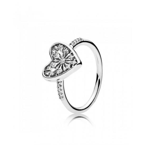 Pandora Ring-Heart Of Winter Jewelry