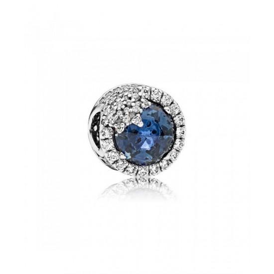 Pandora Charm-Blue Dazzling Snowflake Jewelry