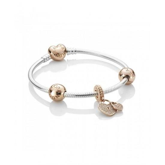 Pandora Bracelet-Love Locks Jewelry