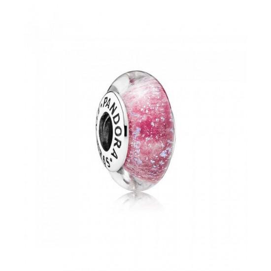 Pandora Charm-Disney Anna S Signature Color Murano Jewelry