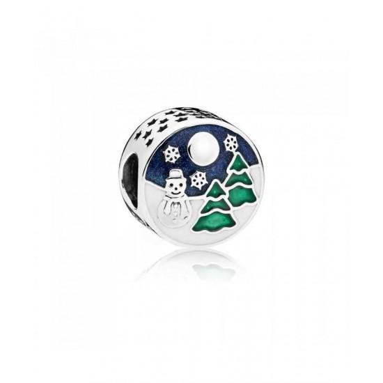 Pandora Charm-Snowy Wonderland Jewelry