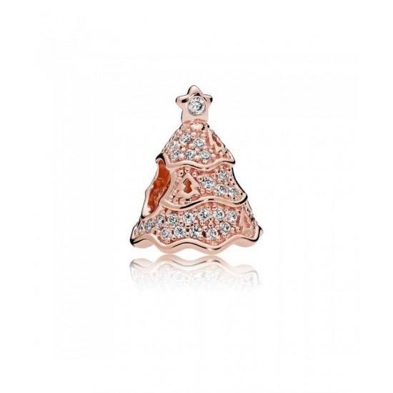 Pandora Charm-Twinkling Christmas Tree Jewelry