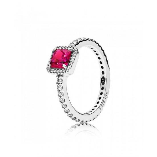 Pandora Ring-Red Timeless Elegance Jewelry