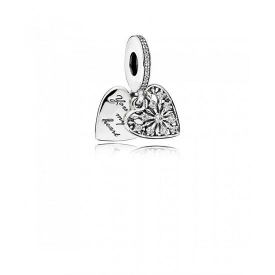 Pandora Pendant-Heart Of Winter Jewelry