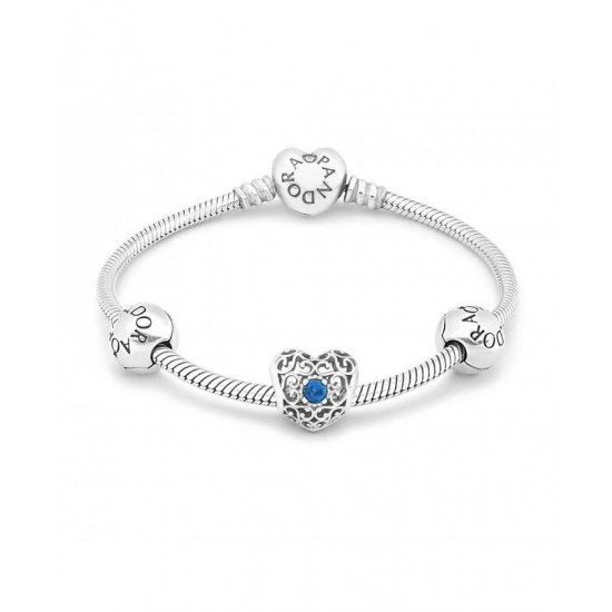 Pandora Bracelet-December Birthstone Jewelry