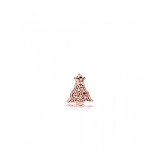 Pandora Charm-Twinkling Christmas Tree Petite Locket Jewelry
