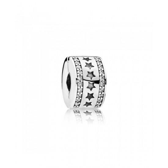 Pandora Clip-Starry Formation Jewelry