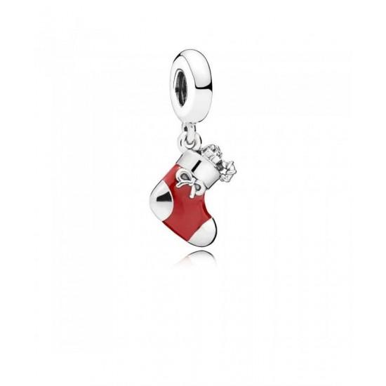Pandora Pendant-Festive Stocking Jewelry