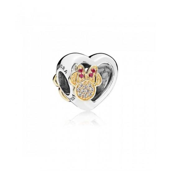 Pandora Charm-Disney Mickey Minnie Love Icons Jewelry