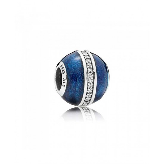 Pandora Charm-Midnight Blue Orbit Jewelry