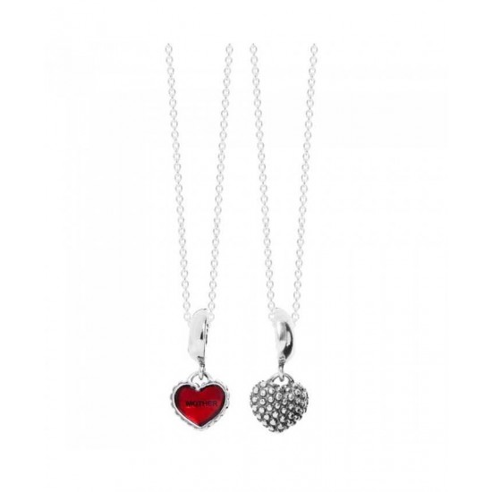 Pandora Necklace-Silver Mother Daughter Complete Jewelry