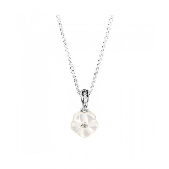Pandora Necklace-Luminous Floral Jewelry