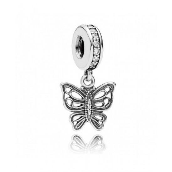 Pandora Pendant-Butterfly Jewelry