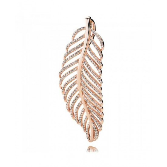 Pandora Pendant-Rose Feather Jewelry Online Sale