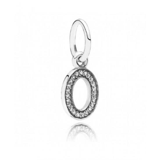Pandora Pendant-Sparkling Alphabet O Jewelry